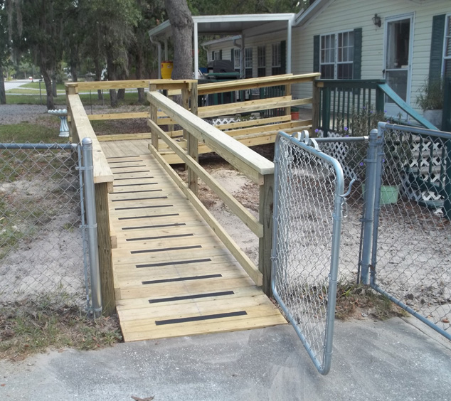 front yard mobility ramp
