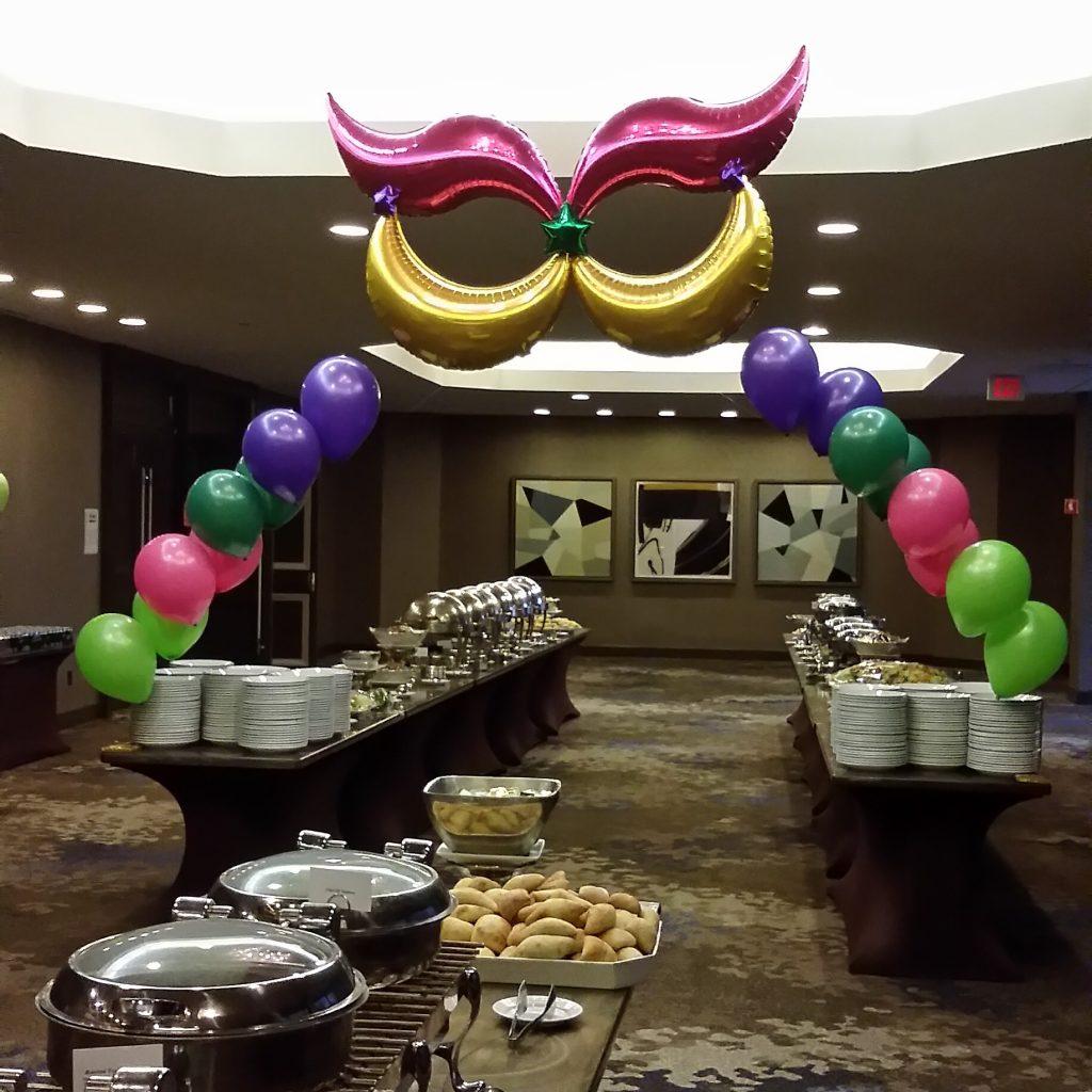 mardi gras balloons
